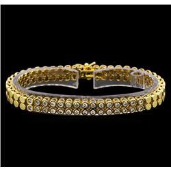 14KT Yellow Gold 1.04 ctw Diamond Bracelet