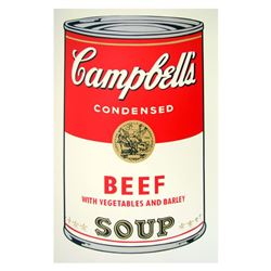 Soup Can 11.49 (Beef w/Vegetables) by Warhol, Andy