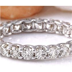 1.75 CTW Natural Diamond 18K Solid White Gold Ring