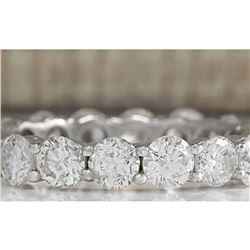 2.70 CTW Natural Diamond Ring In 18K Solid White Gold