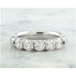 1.40 CTW Diamond 14K White Gold Ring