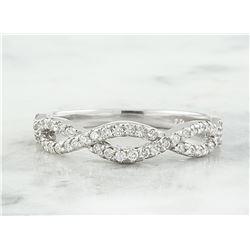 0.35 CTW Diamond 14K White Gold Ring