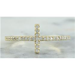 0.35 CTW 18K Yellow Gold Diamond Ring