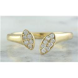 0.15 CTW 18K Yellow Gold Diamond Ring