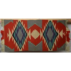 NAVAJO INDIAN GERMAN TOWN TEXTILE