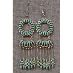 ZUNI INDIAN EARRINGS (DISHTA)