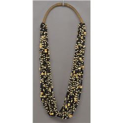 BONE AND WOODEN BEAD NECKLACE