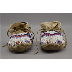 SIOUX INDIAN BABY MOCCASINS