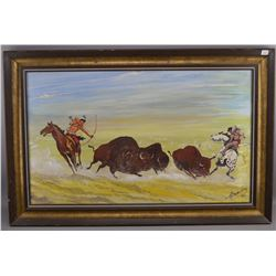 WESTERN PAINTING (HENRY BEAUDRY)