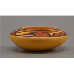 CHEMEHUEVI INDIAN POTTERY BOWL (THERESA WILDFLOWER)