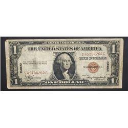 1935A HAWAII $1 SILVER CERTIFICATE