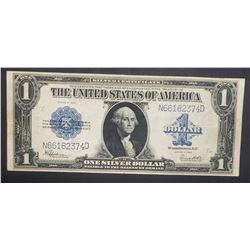 1923 $1 SILVER CERT LARGE NOTE
