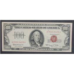 1966 $100 U.S. NOTE