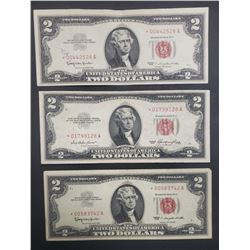 3-$2 RED SEAL STAR NOTES