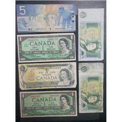 6-CANADA / BANK of ENGLAND NOTES