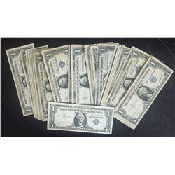 50 $1 SILVER CERTIFICATES