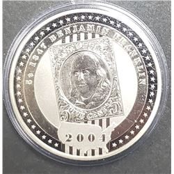 2004 Cook Islands Five $5 Dollar Silver