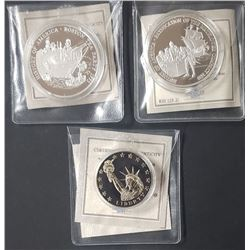 3-BIRTH OF THE NATION COMMEM COINS