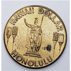 1974 Hawaii Dollar Honolulu