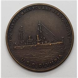 U.S.S. Olympia Coin