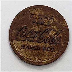 Ficha Para Coca Cola Vendedores Token