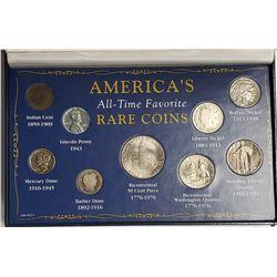 AMERICA'S ALL TIME FAV RARE COINS