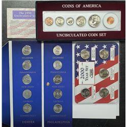 1998 COINS OF AMERICA UNC SET (6)