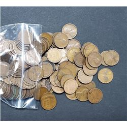 250 WHEAT CENTS (1909-1919) P-D-S GREAT MIX