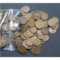 350 WHEAT CENTS (1920-1929) P-D-S