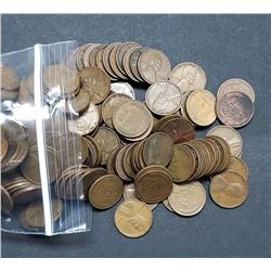 500 WHEAT CENTS (1930-1939) P-D-S GREAT MIX
