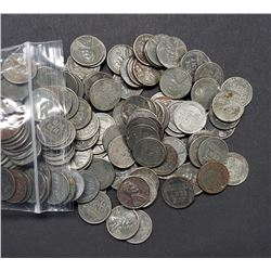 500 STEEL CENTS (1943) P-D-S  GREAT MIX