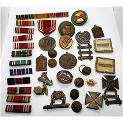 WWII US Army MP & Artillery Lot