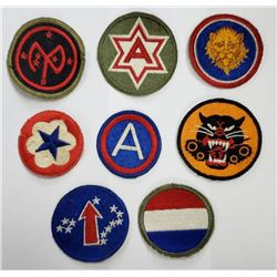WWII US Army Patch Lot