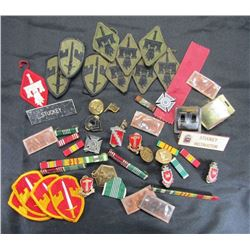 Vintage US Army Engineers Lot, Patches Insignia, P