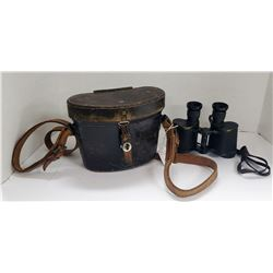 WWII German Field Binoculars Dienstglas 6x30 fvs