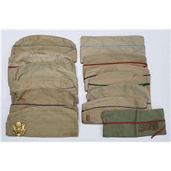 13 US Army & Marine Garrison Caps