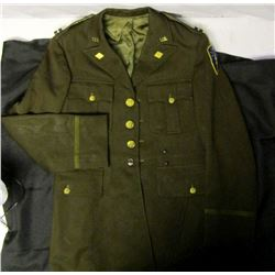 Post WWII Indiana National Guard Captians Dress Co