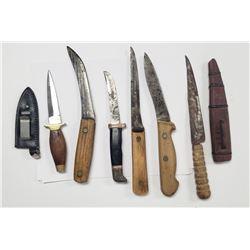 Vintage Knife Lot - 6 Knives Total