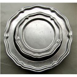CROWN CASTLE PLATES; 4 SMALL, 4 LARGE