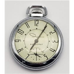 "Vintage Ingraham ""Autocrat"" Pocket Watch"
