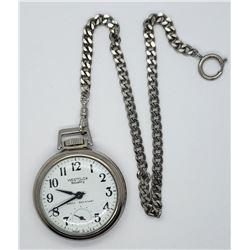 "Vintage Westclox ""Scotty"" Pocket Watch"
