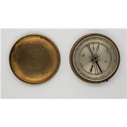 Vintage Brass Military & Scout Compass Works Fine!