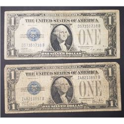 1928 A&B $1 SILVER CERTIFICATE