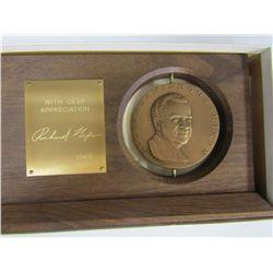 *RARE* White House Inaugural Medal Gift DISPLAY
