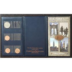 NEW YORK CITY SOUVENIR COIN BOOK