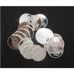20-.999 SILVER 1ozt ROUNDS