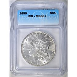 1899 MORGAN DOLLAR ICG MS-63+