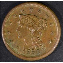 1850 LARGE CENT CH BU