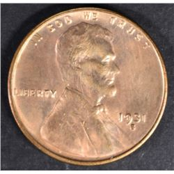 1931-S LINCOLN CENT CH BU RD