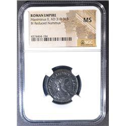 AD 310-313 MAXIMINUS II  NGC MS